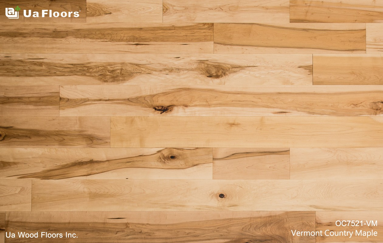 Ua Floors - PRODUCTS|Vermont Country Maple Flooring
