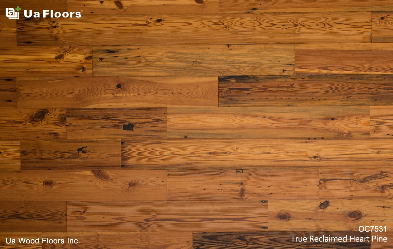 Ua Floors - PRODUCTS|True Reclaimed Heart Pine
