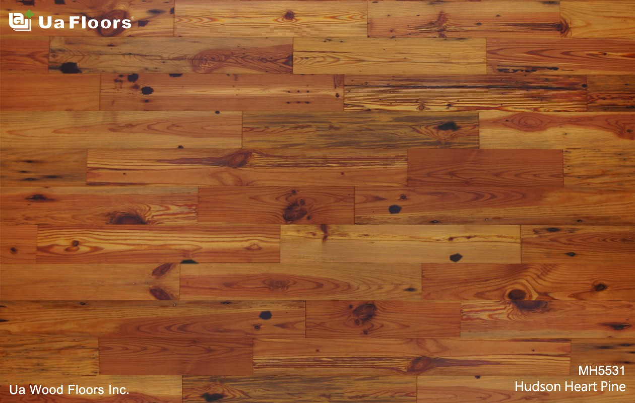 Ua Floors - PRODUCTS|Hudson Heart Pine