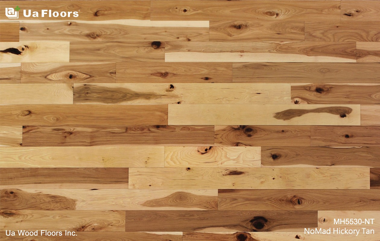 Ua Floors - PRODUCTS|NoMad Hickory Tan