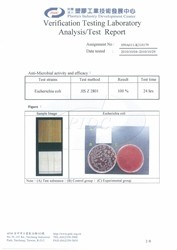 Ua Floors - Test Report_Escherichia-coli